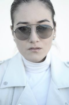 [ Lizzie Lo ]: ASTRONUTS http://www.lizzie-lo.com/2015/05/astronuts.html [Mise in Dior tribal earrings   +  PRADA MAN SS12 sunglasses  +  Zara leather biker vest  +  BVLGARI 'save the children'  +  BALENCIAGA ASTROGIRL boots]