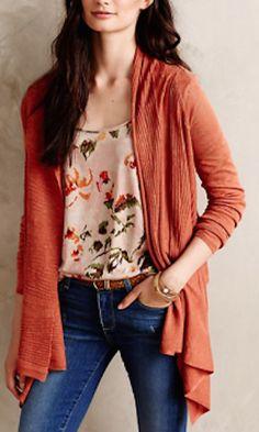 cozy burnt orange cardigan #anthrofave http://rstyle.me/n/rw24rr9te