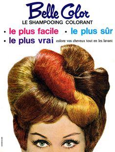 Publicité Belle Color 1962