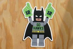 Seattle Seahawks Sticker  Seahawks Decal  Seattle Sticker https://www.fanprint.com/licenses/seattle-seahawks?ref=5750