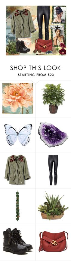 """""""♥"""" by antonelamarc ❤ liked on Polyvore featuring Nearly Natural, Wildfox, Banana Republic, STOULS and Tory Burch"""