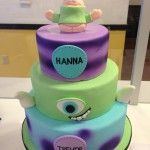 Coffee Cake Squishy Monster : 1000+ images about Monster university cake on Pinterest
