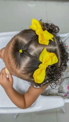 Black Baby Girl Hairstyles, Easy Toddler Hairstyles, Easy Little Girl Hairstyles, Cute Hairstyles For Kids, Girls Natural Hairstyles, Mixed Baby Hairstyles, Hairstyle For Baby Girl, Afro Hairstyles For Kids, Childrens Hairstyles