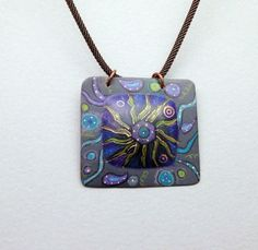 Dazzling Color on Copper with Roxan O'Brien Level: All Levels Technique: Design, Metalsmithing