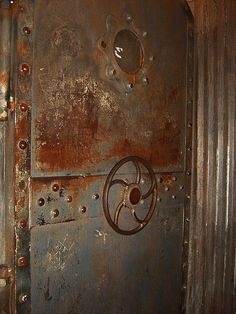 Steampunk/Industrial Door