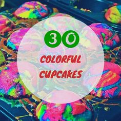 Colors bring life to every tiny thing in this world, so to prove this I have collected 30 beautiful and colorful cupcakes.