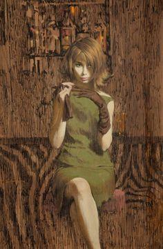 Art: Robert McGinnis. Never Kill a Client - cover art - 1963