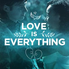 """""""I loved you before I knew you."""" When you're in love, it's everything. Romantic words and pictures to remember your first love and feel those butterflies again.   Everything, Everything Movie   In theaters now"""