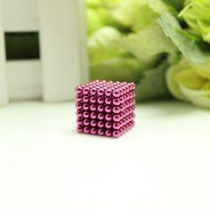 216pcs 3mm neodymium magnetic balls spheres beads magic cube magnets puzzle birthday present for children - vacuum package.