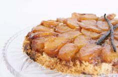 Foto de uma tarte tatin de maçã