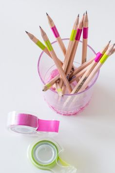 Make it amazing - Desk accessories with 3M Expressions tape