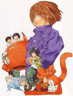 Takeshi Obata Mangaka Blanc et Noir Artbook Manga Artist, Comic Artist, Comic Manga, Manga Anime, Character Art, Character Design, Collages, Japanese Artwork, Manga Covers