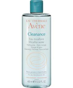 CLEANANCE Eau micellaire | Eau Thermale Avène