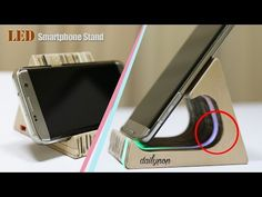 How to Make a Retro TV Phone Stand - YouTube