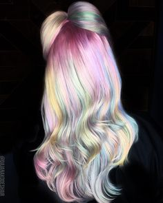 This New Hair-Dyeing Technique Is A Unicorn Lover's Dream