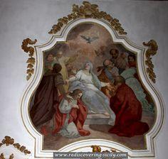 Church Santa Maria della Catena - Palermo: Frescoes