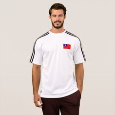 Shop Mens Flag of Sao Tome and Principe T-Shirt created by Flagosity. Flag Shirt, T Shirt, Political Events, Sierra Leone, Adidas Men, Flags, Shirt Style, Kids Outfits, Shirt Designs