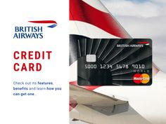 British Airways Credit Card - Benefits & Application Process – MoneyToday Credit Card Benefits, Credit Card Application, British Airways, Get One, South Africa, Learning, Cards, Studying, Teaching