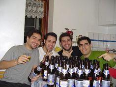 Samba mit Leo, Joao, Caio und Pedro