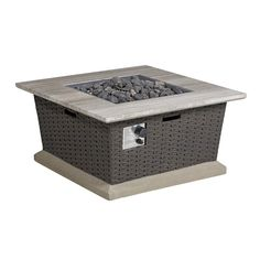 Shop allen + roth Somersville BTU Liquid Propane Fire Pit Table at Lowe's Canada. Find our selection of fire pits at the lowest price guaranteed with price match. Outdoor Fire Pit Kits, Outdoor Propane Fire Pit, Outdoor Gas Fireplace, Fire Pit Grill, Gas Fire Pit Table, Fireplace Modern, Steel Fire Pit, Wood Burning Fire Pit, Cool Fire Pits