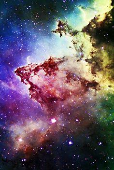 IC1805 nebula