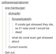 Coral's mental state: