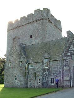 Drum Castle, home of Clan Irvine, Aberdeenshire, Scotland