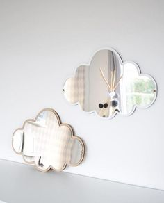 This magical children's mirror is a beautiful addition to any nursery or kids room. Childrens Mirrors, Kids Mirrors, Acrylic Mirror, Diy Mirror, Kids Furniture, Art Deco Furniture, Cheap Furniture, Kids Bedroom Accessories, Baby Bedding Sets