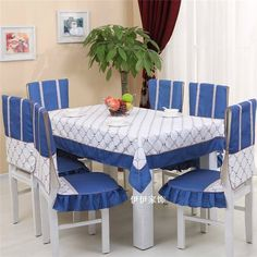 Cubre sillas y mantel de comedor!!! Decor, Dining Decor, Furniture, Kitchen Crafts, Dining Table Cloth, Home Decor, Dining Table Chairs, Kitchen Dining Furniture, Dinning Set