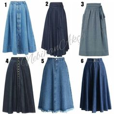 Likes, 395 Comments - Nebihan A . Street Hijab Fashion, Muslim Fashion, Denim Fashion, Modest Fashion, Fashion Dresses, Skirt Outfits, Dress Skirt, Maxi Skirts, Jean Skirts