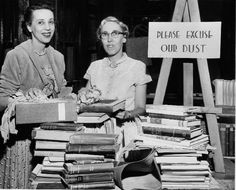 25 Vintage Photos of Librarians Being Awesome / Emily Temple + @Flavorwire   #neverforget