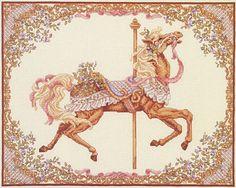 """Teresa Wentzler """"Spring Carousel Horse"""" #Pinterest Carousels"""