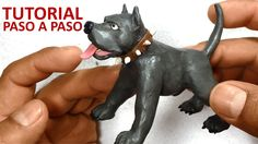 Como hacer un perro pitbull de plastilina / how to make a pitbull dog with clay - YouTube