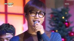Music Bank 151218 : Unfair - Kai with glasses (3/3)