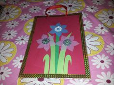 home made paper bag