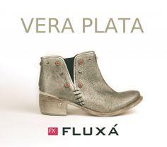 Botín VERA PLATA de #Fluxá. #shoes #newcollection #boots #moda #fashion #trends