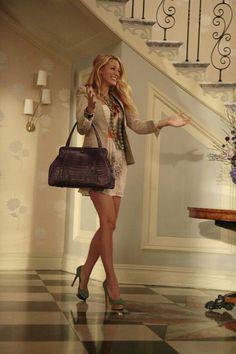 Blake Lively as Serena Van Der Woodsen
