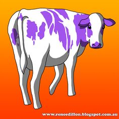 """The Forgotten Cow"" by Renee Dillon"
