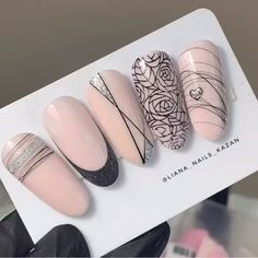 impressive mat coffin nail art designs – decoration – Famous Last Words Cow Nails, Nude Nails, Pink Nails, Coffin Nails, Nail Art Stripes, Manicure E Pedicure, Stylish Nails, Gel Nail Art, Creative Nails