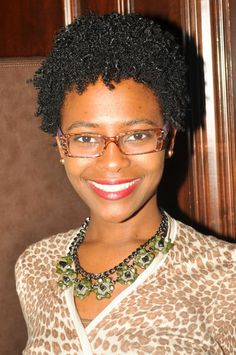 TWA (Teenie Weenie Afro) <--I went to college with her.