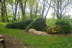 Sleeping Goddess of the Lost Gardens the Lost Gardens of Heligan near the fishing village of Mevagissey were planted by the Tremayne family in the middle of the 18th century. Fallen into disrepair after the First World War, the estate later restored its botanical holdings to their full glory in the 1990s. Visitors to the Lost Gardens can admire Europe's only pineapple pit — an ingenious way discovered by Victorian-era gardeners to coax pineapples from colder environs.