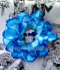 A little extra something for my dress maybe? Day of the Dead Sugar Skull Makeup by SugarySkullsBoutique on Etsy, $14.00