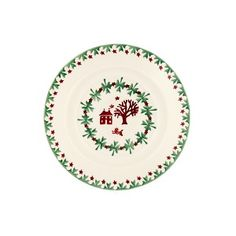 A distinctive earthenware 6 inch plate, handmade in England, in Emma Bridgewater's Christmas Joy pattern. Christmas Town, Xmas, Emma Bridgewater Pottery, Mulling Spices, Unique Home Accessories, Living Room Essentials, Kitchenware, Tableware, Tea Set