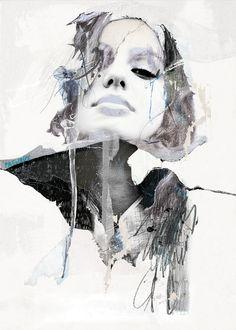 'Fixer les vertiges'. Giclée Konsttryck av Sandrine Pagnoux - Arte Limited
