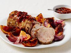 Roast Pork Loin with Blood Orange Mostarda recipe from Food Network Kitchen via Food Network