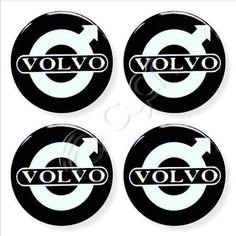 Tapacubos Cromados Brillantes Volvo - Alto Relieve - U$S 6,50