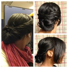 taking care of relaxed hair during winter