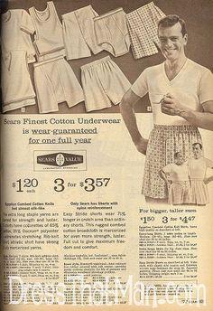 1967 Mens Boxer Shorts