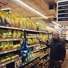 One Kootenay traveller, happy he can find our sourdough pasta while out on the road!  Spotted at Whole Foods Market in North Vancouver.
