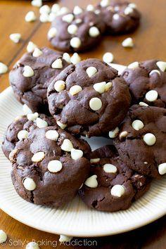 Galletas de chocolate con chispas de menta: | 20 Maneras diferentes de hacer galletas con chispas de chocolate